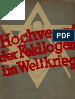 Hochverrat der Feldlogen im Weltkrieg Hasselbacher, Friedrich (1935)