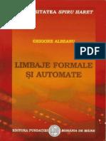 Limbaje Formale Si Automate