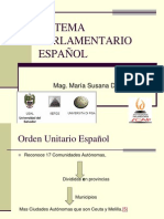 Sistema Parlamentario Espanol