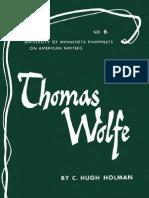 [C. Hugh Holman] Thomas Wolfe(Bookos.org)