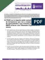 """Respuesta """"bronca"""" de EMVS Torrejón a la Sentencia de anulación"""