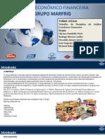 Análise Economico Financeira - MARFRIG - GFCA16 Jundiai