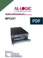 MPCX37 Manual