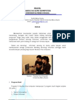 Profil Fakultas Ilmu Komputer - universitas Mercu Buana