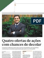 Reportagem do Presidente do MZ Group veiculada no Jornal Brasil Econômico em 18/05/2013