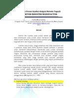 Proposal Kerja Praktek - Optimasi Proses Injeksi Optimasi Kontrol Dengan Metode Taguchi