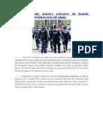 Roberto Claudio Anuncia Concurso Da Guarda Municipal de Fortaleza Com Mil Vagas