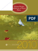 USIP Press Fall 2010 Book Catalog