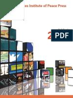 USIP Press Fall 2012 Book Catalog