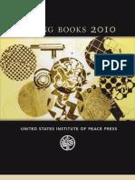 USIP Press Spring 2010 Book Catalog