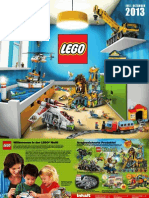German Lego Catalogue for the July-December 2013