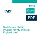 Obes Phys AcStatistics on Obesity, Physical Activity and Diet: England, 2013ti Diet Eng 2013 Rep