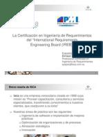Certificacion en Ingenieria de Requerimientos