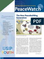 PeaceWatch Spring 2010