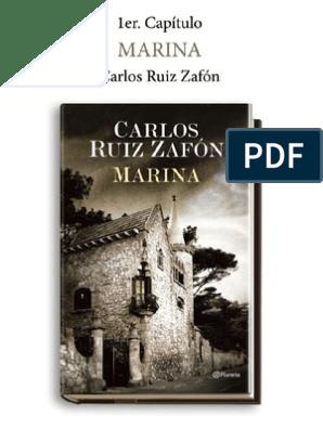 Marina Carlos Ruíz Zafón | Novelas | Naturaleza