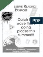 2009 Senator Flanagan Summer Reading Log