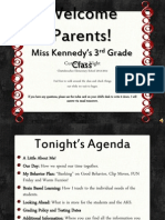 Curriculum Night 2013