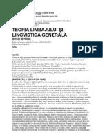 19602026 Eugeniu Coseriu Teoria Limbajului Si Lingvistica Generala