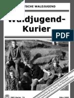 Waldjugend Kurier Nr. 74 / März 2009