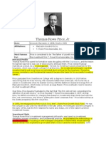 Thomas Rowe Price Investment Philosophy