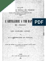 L'artillerie à tir rapide en France, les canons Canet
