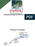Toyota Repositioning