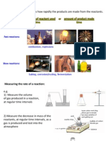 IGCSE Chemistry - Rates and Equilibrium