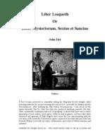 John Dee - Liber Loagaeth or Mysteriorum Liber Sextus Et Sanctus Cd3 Id746473400 Size398