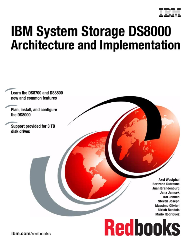 IBM® - Redbook - DS8000 - Architecture and Implementation | Command Line  Interface | Computer Data Storage