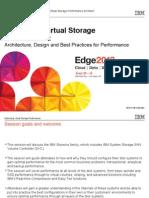 IBM® Edge2013 - Optimizing Virtual Storage Performance