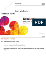 IBM® Edge2013 - Storage Migration Methods
