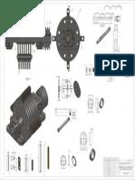 Molino Martillos Despiece Del Rotor - Plotear