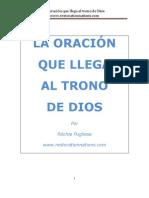 Restorationnations.com La Oracion Que Llega Al Trono de Dios