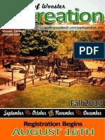Fall Brochure 2013