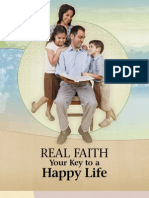 Real Faith Your Key to a Happy Life
