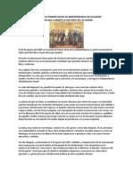10 DE AGOSTO PRIMER GRITO DE INDEPENDENCIA DE ECUADOR.docx