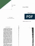 PLATÃO. Górgias