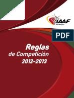 reglamento IAAF
