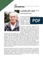 Rodr¡guez Castelo, Hernan  - La violencia como asunto en la literatura infantil y juvenil