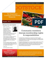 ROOTSTOCK - Volume 1, Issue 1