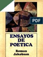 ENSAYOS DE POÉTICA ROMAN JAKOBSON