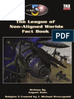 Babylon 5 RPG (1st Ed.)-The League of Non-Aligned Worlds
