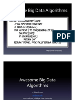 Awesome Big Data Algorithms