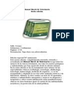 Manual Merck de Veterinaria