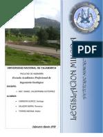 Petitorio Minero, Cuadrangulo de Noaya - Ucayali