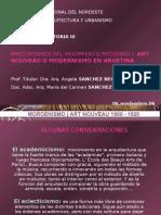 Arquitectura - Art Nouveau - Historia III