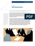 Improving Board Governance