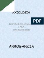 ANTIVALOR ARROGANCIA