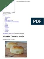Receita de Massa de Pão extra macia - Tudo Gostoso.pdf