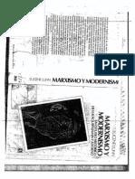 Eugenne Lunn-Marxismo y Modernismo-Parte I